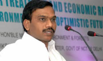 2G spectrum scam: DMK leader A Raja says everybody happy with the judgement