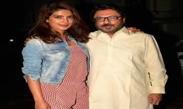 I will always stand by Sanjay Leela Bhansali, says Priyanka Chopra on Padmavati Row