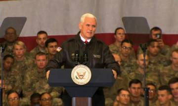 Donald Trump has put Pakistan on notice for supporting Taliban, says VP Mike Pence