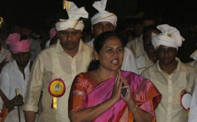 BJP MP Shobha Karandlaje booked for