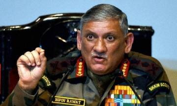 Peace talks only when Pakistan stops supporting terror, says Army Chief General Bipin Rawat