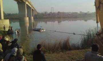 Rajasthan: 33 people killed as bus driven by minor falls into Banas River
