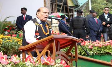 SSB increased strength after Dokalam: Rajnath Singh