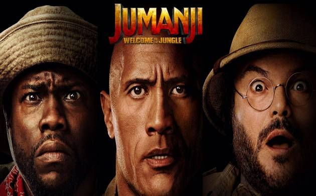 Jumanji Welcome to the Jungle poster (Source: Twitter))