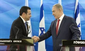 Following Trump's lead, Guatemala to move embassy to Jerusalem