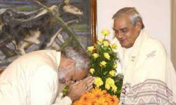 PM Modi wishes BJP leader Atal Bihari Vajpayee on his 93rd birthday, lauds his contribution