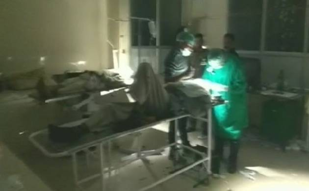 Uttar Pradesh: Cataract surgery on 32 patients in torch light; CMO suspended (Source: ANI)