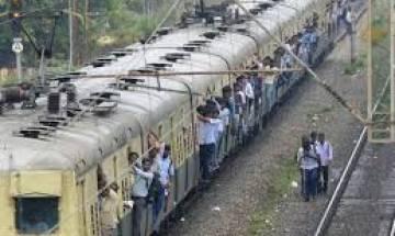 Suburban rail services hit as local train derails in Chennai