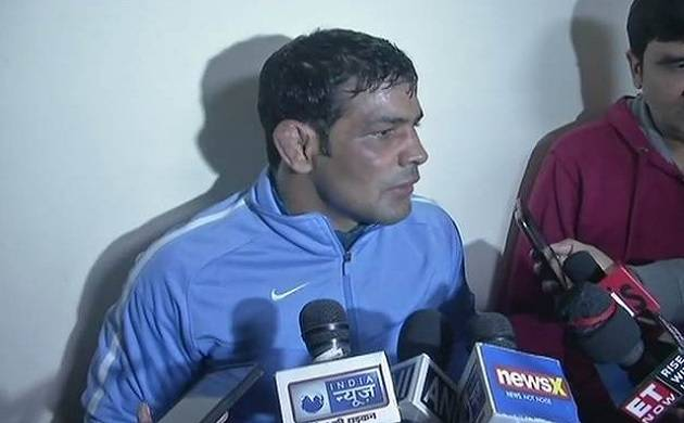 Supporters of Sushil Kumar, Praveen Rana clash during 2018 CWG trials (ANI photo)