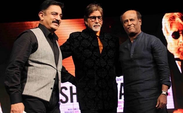 Rajinikanth enters politics, Big B, Kamal Haasan, Anupam Kher, Riteish Deshmukh wish him luck (Picture Courtesy: YouTube)