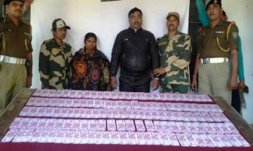 West Bengal: BSF seizes fake Rs 2000 notes worth Rs 6,00,000 from Malda