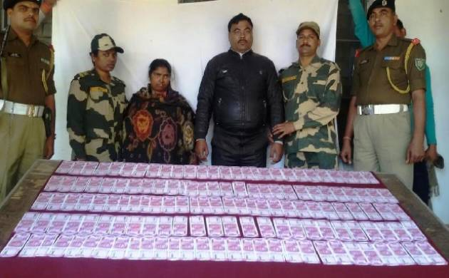 West Bengal: BSF seizes fake Rs 2000 notes worth Rs 6,00,000 from Malda (Source: ANI)