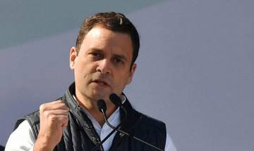 Rahul Gandhi lashes out at BJP over 'empty promises', lack of employment