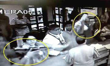 VIDEO | Bihar minister gets in scuffle with hotel staff in Bengal, CCTV footage captures the incident