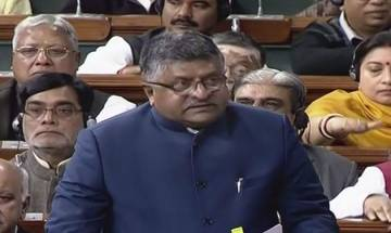 Congress 'cobbled up' with other parties to oppose Triple Talaq Bill: Ravi Shankar Prasad