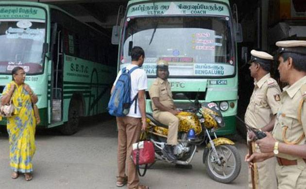 Return or face action: TN govt to striking transport staff (representational pic: PTI)