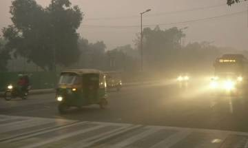 Dense fog hits rail traffic in Delhi, cold wave continues unabated