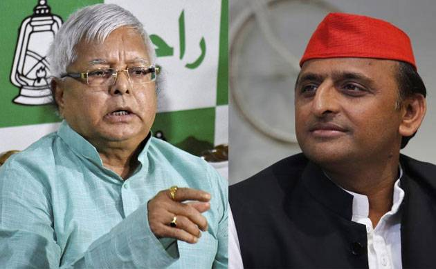 Akhilesh Yadav expresses solidarity with jailed Lalu Yadav