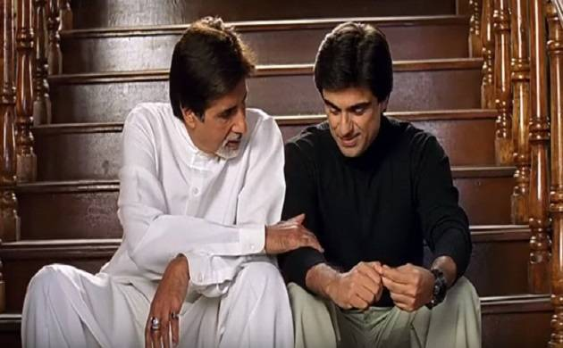 Mr Bachchan's tweet on 'My Birthday Song' revived Baghban memories(Image Courtesy: Screenshot from Baghban)