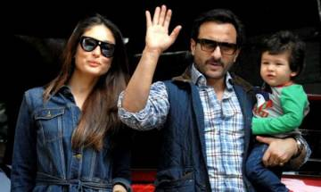 Saif Ali Khan gives a SURPRISING reaction to Kareena's 'comeback' post son Taimur's birth