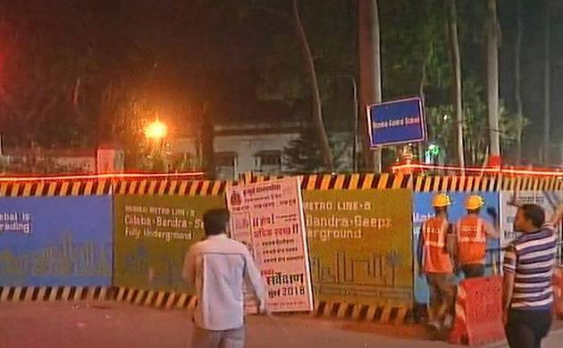 Crude bomb-like devices found during Metro excavation work in Mumbai (Source: ANI)