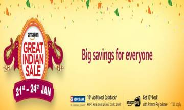 Amazon India announces the Great Indian Sale dates; big offers on smartphones revealed