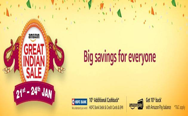 Amazon India announces the Great Indian Sale dates; big offers on smartphones revealed (Source: Amazon.in)