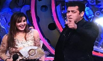 Bigg Boss 11: Salman Khan announces Shilpa Shinde as winner of the show