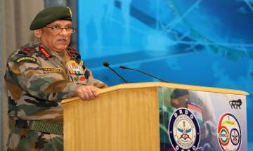 """Political initiative must go """"hand-in-hand"""" with military operations in J&K, Army Chief Bipin Rawat"""