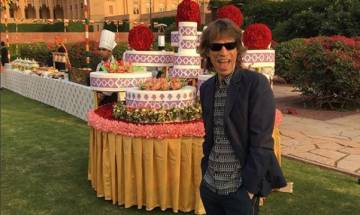 The Rolling Stones' frontman Mick Jagger is on surprise India visit