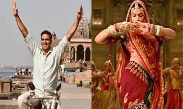 Akshay Kumar promotes Pad Man while Padmaavat starcast is totally INVISIBLE