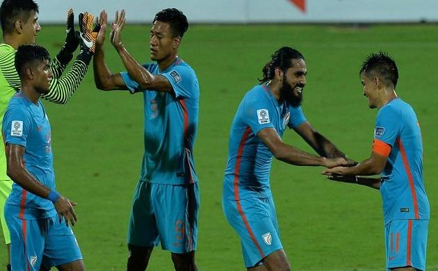 India rise 3 places to occupy 102nd spot in FIFA rankings (File Photo)