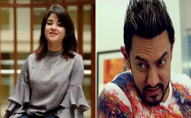 Zaira Wasim-Aamir Khan starrer 'Secret Superstar' beats Dangal's opening day collections