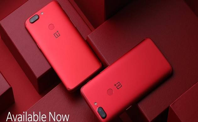 OnePlus 5T Lava Red goes on sale in India today(Image Courtesy: OnePlus India - Twitter)