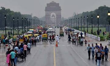 Drizzle in Delhi; poor visibility affects train services