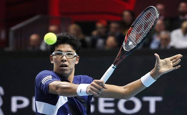 Hyeon Chung in Australian Open - File Photo
