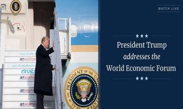 WEF 2018: Donald Trump says America first does not mean America alone