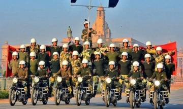 Watch | Republic day 2018: BSF's Seema Bhawani becomes FIRST women contingent to perform stunts at Rajpath