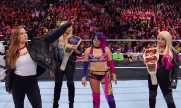 WWE : Asuka wins first ever Royal Rumble; Ronda Rousey FINALLY debuts
