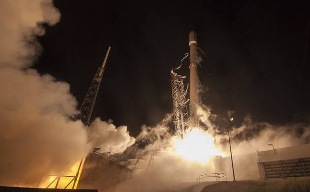 SpaceX set for another Falcon 9 launch along with GovSat-1 today (File Photo)