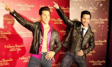 Varun Dhawan fulfils childhood dream; Unveils his wax figure in Madame Tussauds Hong Kong (see pics)