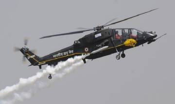 India's homemade light combat helicopter makes maiden flight; chopper has desi control system
