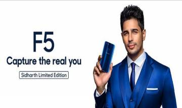 Oppo to launch F5 Sidharth Limited Edition in exquisite Blue tomorrow; Click here for details