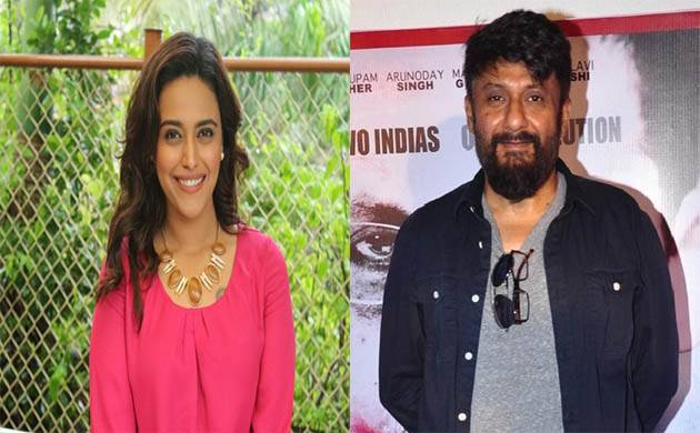 Padmaavat: Swara Bhaskar lashes out at Vivek Agnihotri, calls him 'low and sick'(Source - IANS)