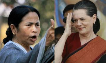 Mamata Banerjee congratulates Sonia Gandhi on Congress's showings in Rajasthan bypolls