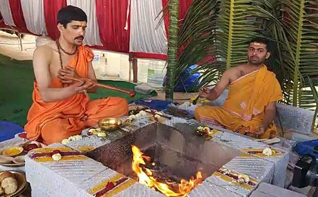 The yagna will conclude on Saturday 3 pm.