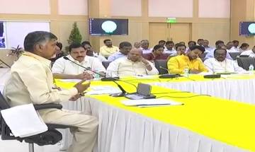 Chandrababu Naidu holds crucial TDP Parliamentary Committee meet to take call on alliance with BJP
