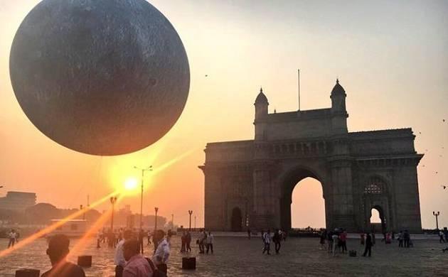 Moon at your doorstep! Giant Lunar replica unveiled at Gateway of India, Mumbai (File Photo)