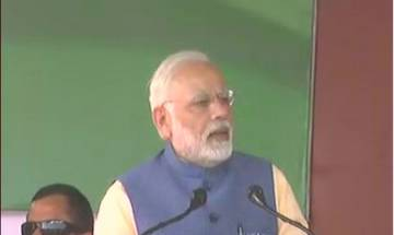 PM Modi's Nava Nirman Parivarthan yatra at Bengaluru: Congress party stalling the 'Triple Talaq' bill in the parliament