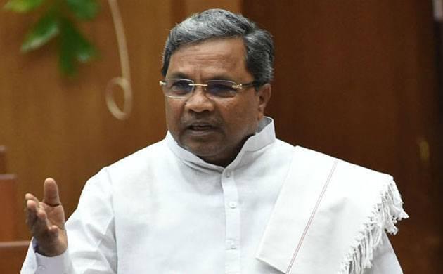 Karnataka Chief Minister Siddaramaiah - File Photo
